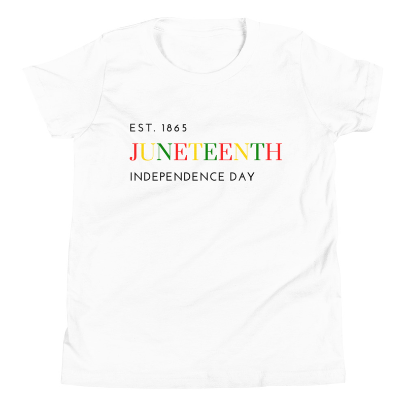 Juneteenth COLOR Youth Short Sleeve T-Shirt