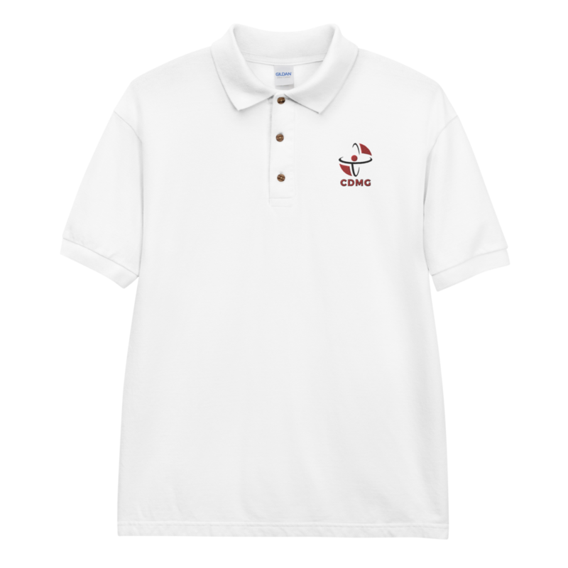 CDMG Classic Polo Shirt/White