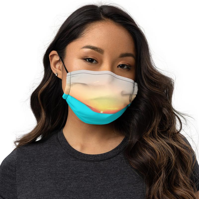 Aerial Premium face mask (no title/name printing)