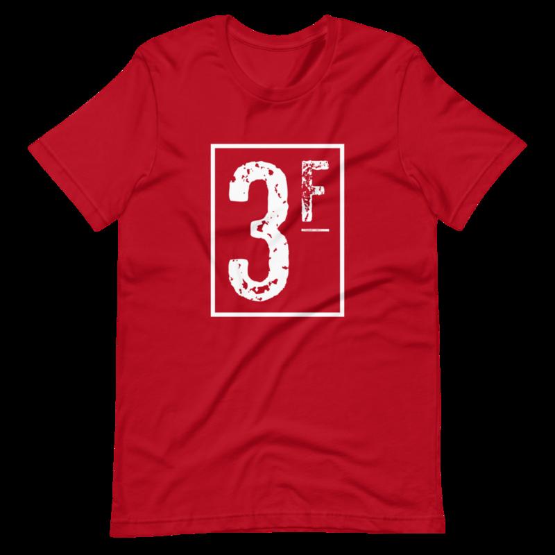 3Faces T-Shirt | White Logo
