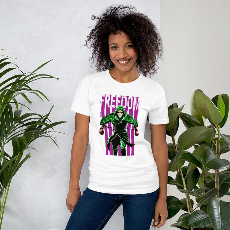 Freedom Green/Purple Unisex T-Shirt