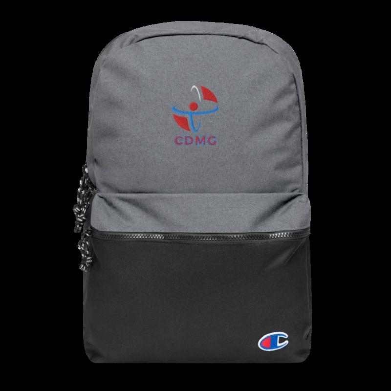 CDMG Custom Embroidered Champion Backpack