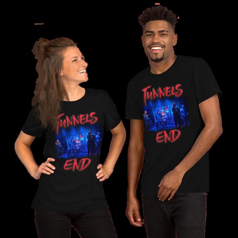 Tunnels End Unisex Photo T-Shirt