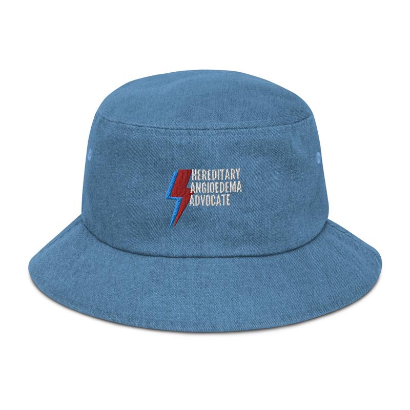 Apparel - HAE Advocate Denim bucket hat