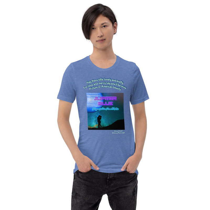 Jupiter Blue Unisex T-Shirt