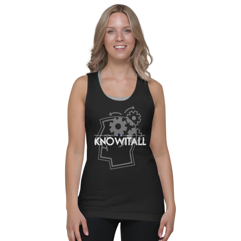 KnowItAll Classic Unisex Tank Top