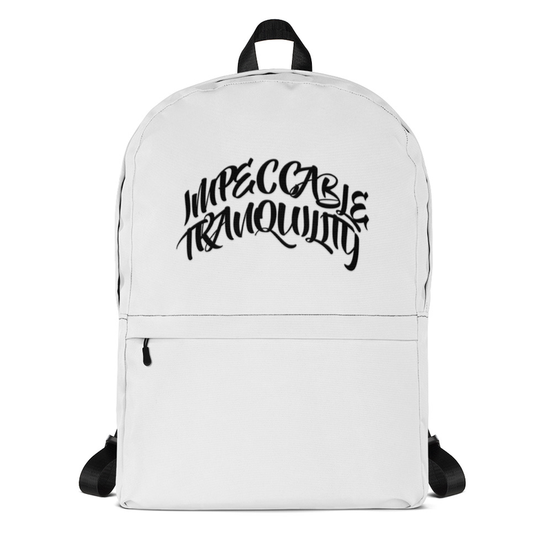 Impeccable Tranquility Backpack