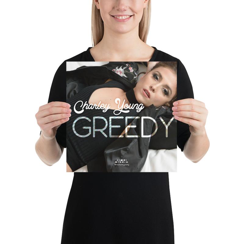 Greedy Poster