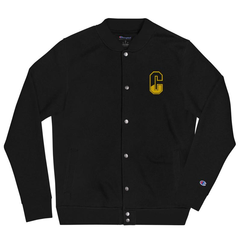 Embroidered Casanova Champion Bomber Jacket