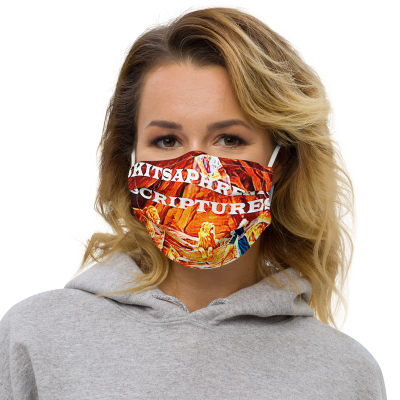 Premium face mask - SKITSAPHRENIC SCRIPTURES