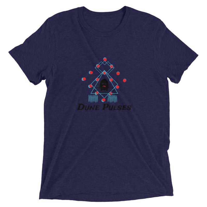 Dune Pulses (Monstroso) - Soft tri-blend  t-shirt