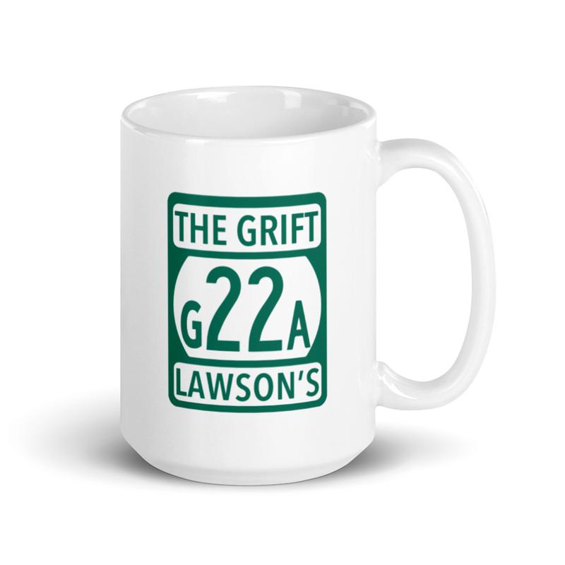 G22A White Glossy Mug