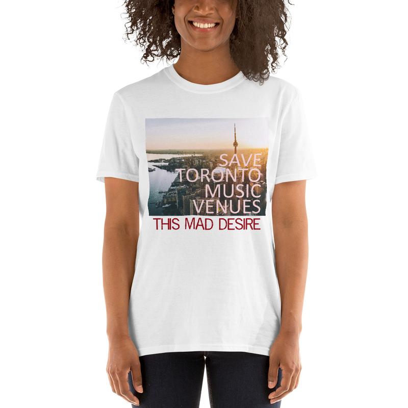 Save Toronto Music Venues Short-Sleeve Unisex T-Shirt