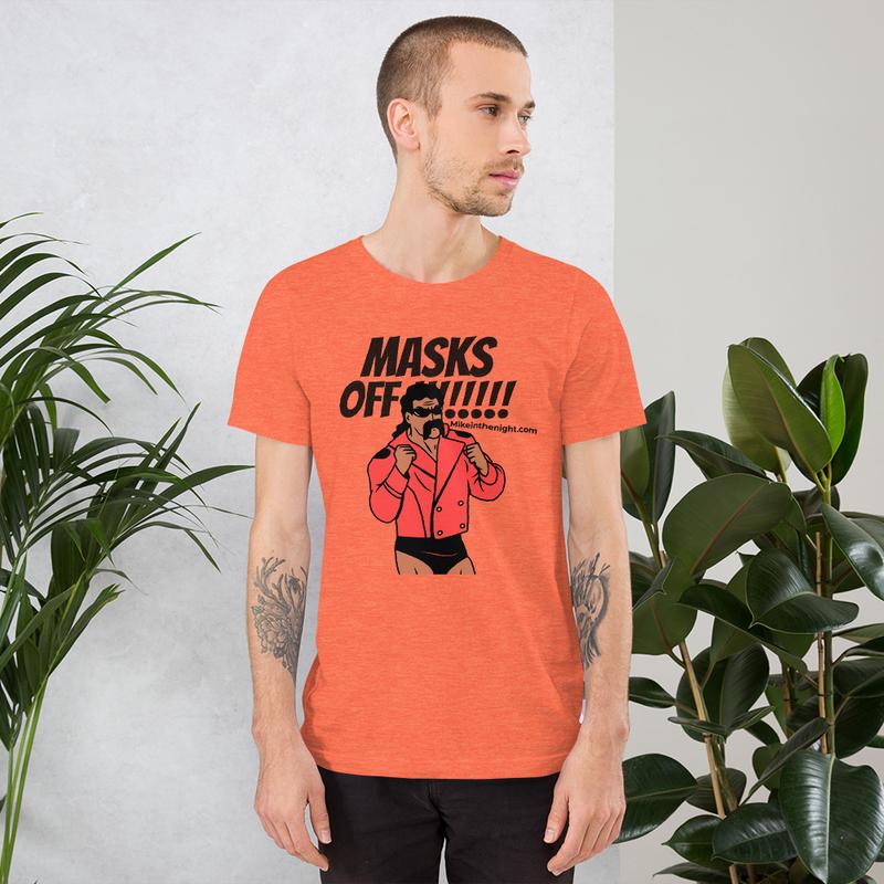Masks Off Short-Sleeve Unisex T-Shirt