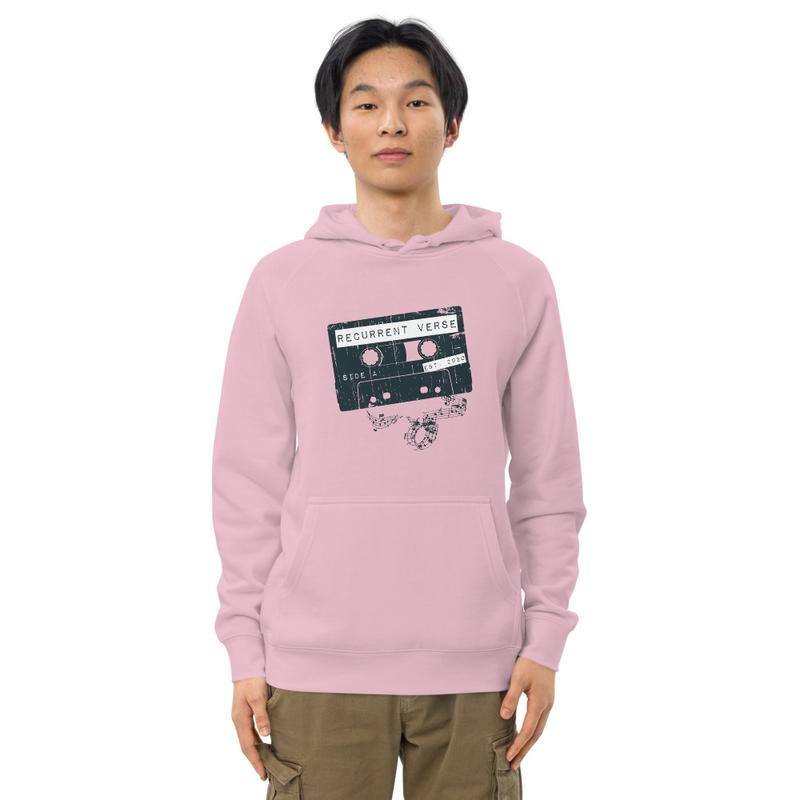 Unisex Tape Logo Hoodie