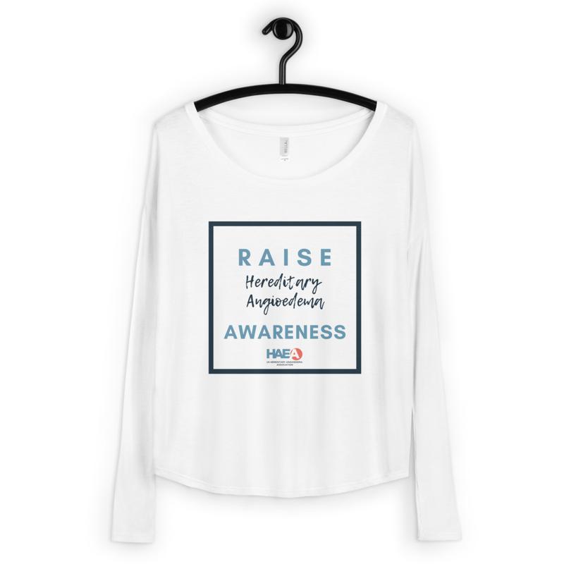 Apparel - Raise HAE Awareness Long Sleeve Tee