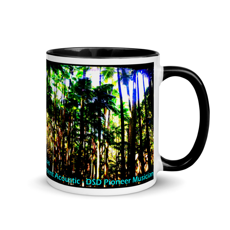 Hilo Onomea Bay - Mug with Color Inside