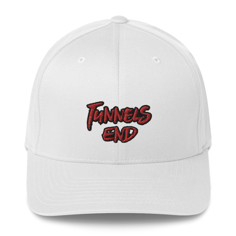 Tunnels End Hat White with Name on Back