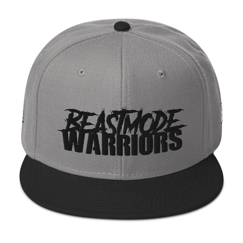 Beastmode Warriors Snapback Hat (GRE /LSP Logos on Side)