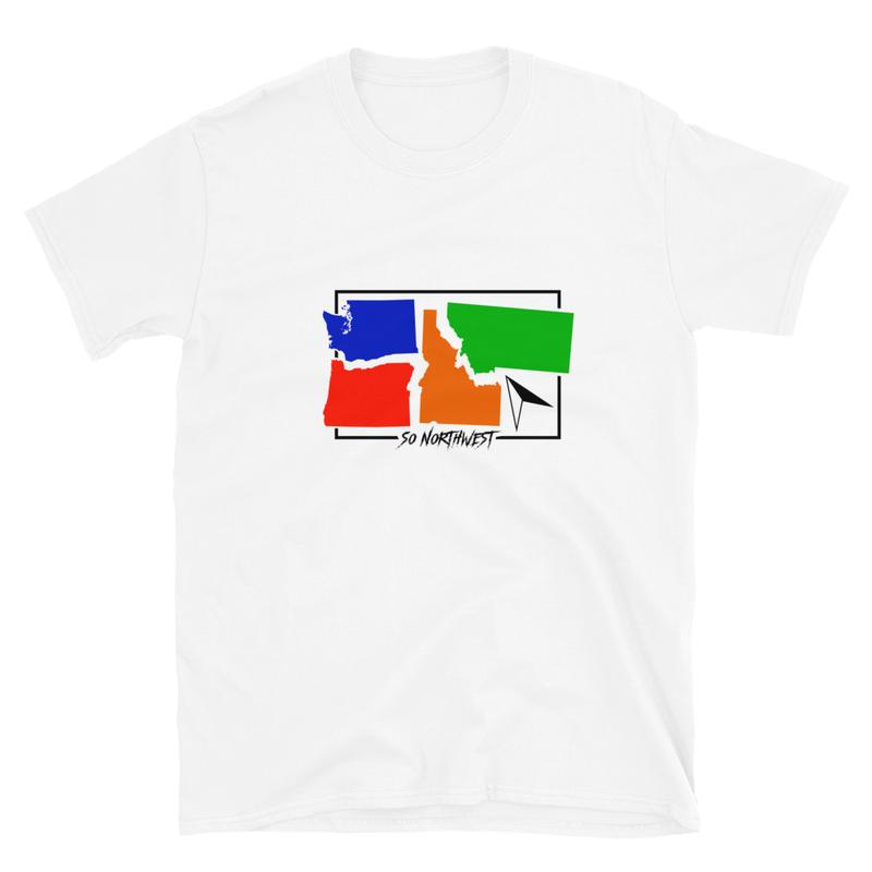 So Northwest 4 Points  Short-Sleeve Unisex T-Shirt