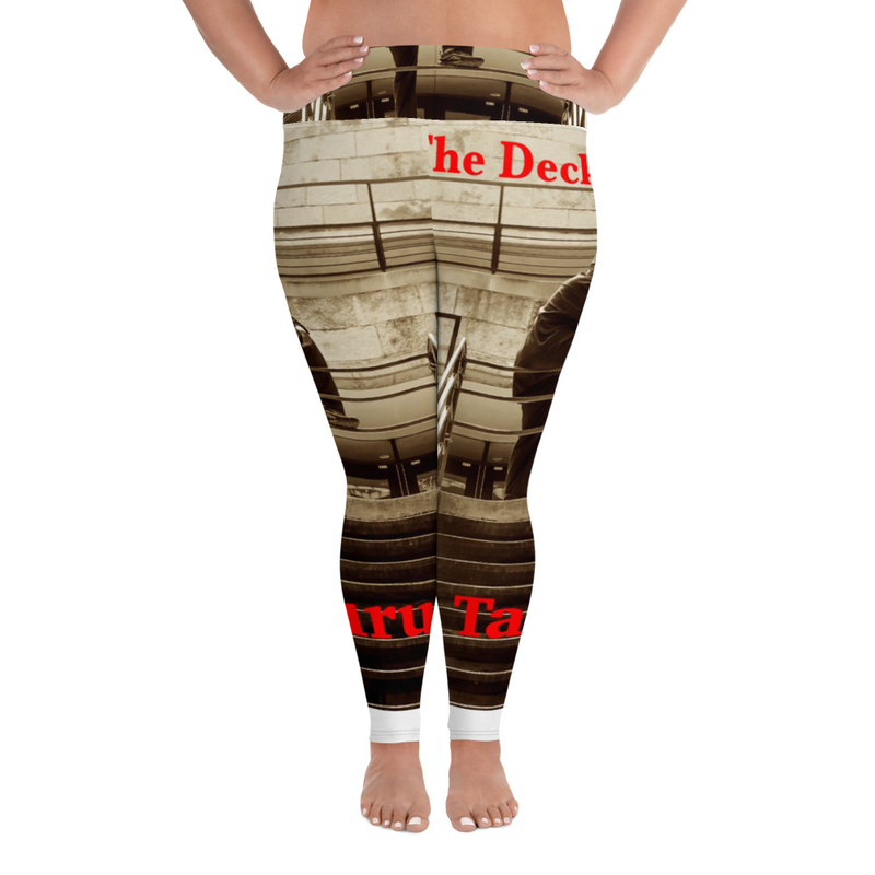 On The Deck All-Over Plus Size Leggings