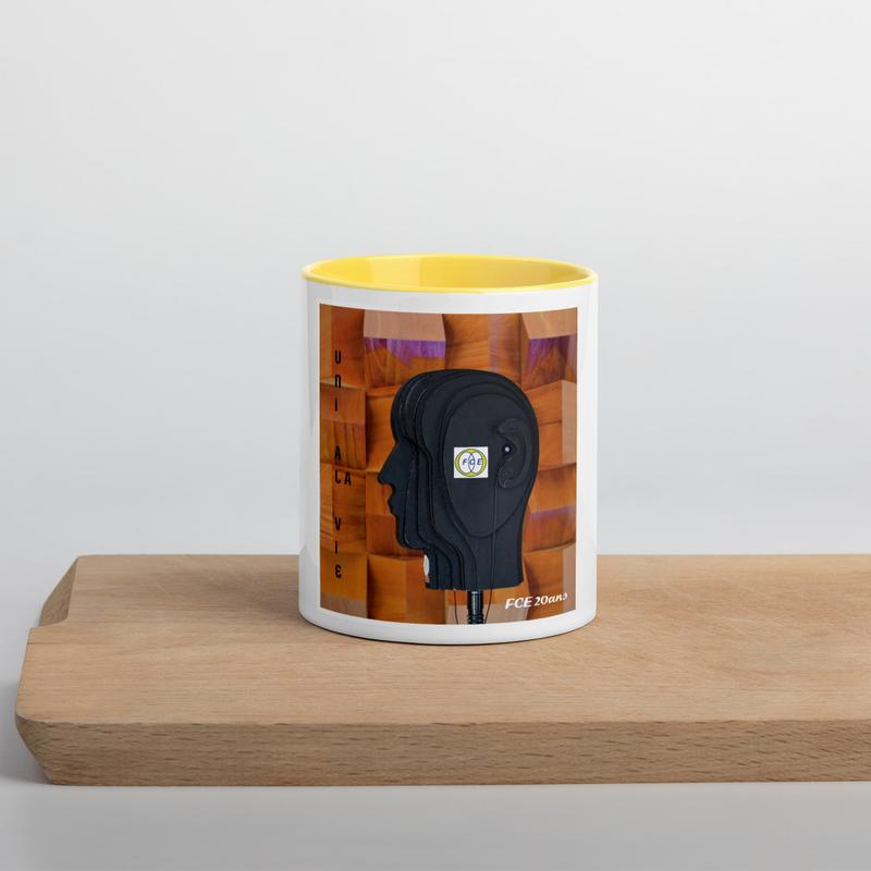 Mug à Intérieur Coloré «VINYLE»