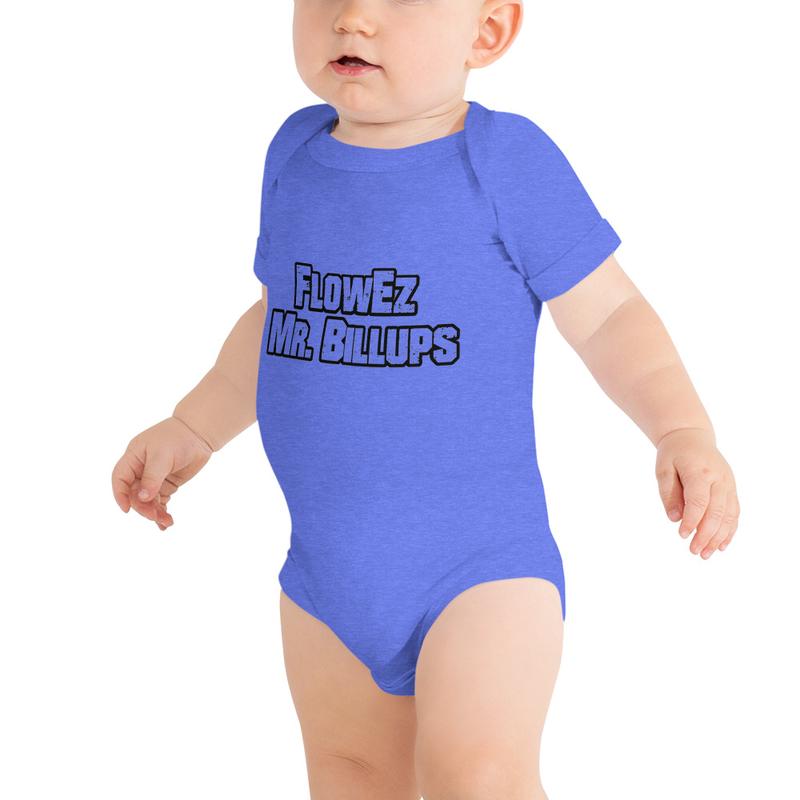 FlowEz Mr. Billups Baby short sleeve one piece