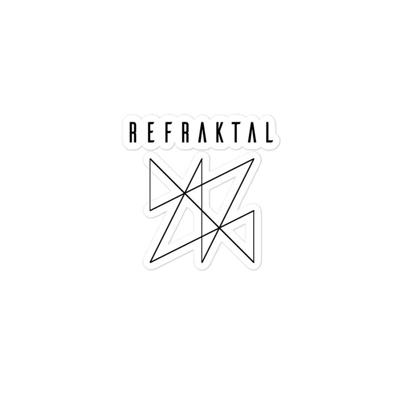 Refraktal Logo Sticker