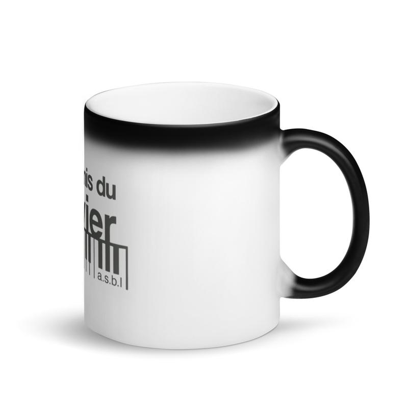 Mug Magique Noir Mat «Les amis du clavier»