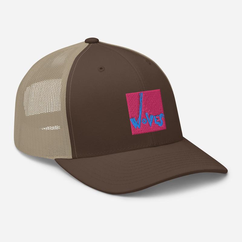 Trucker Cap (Woves - Pink Sky)