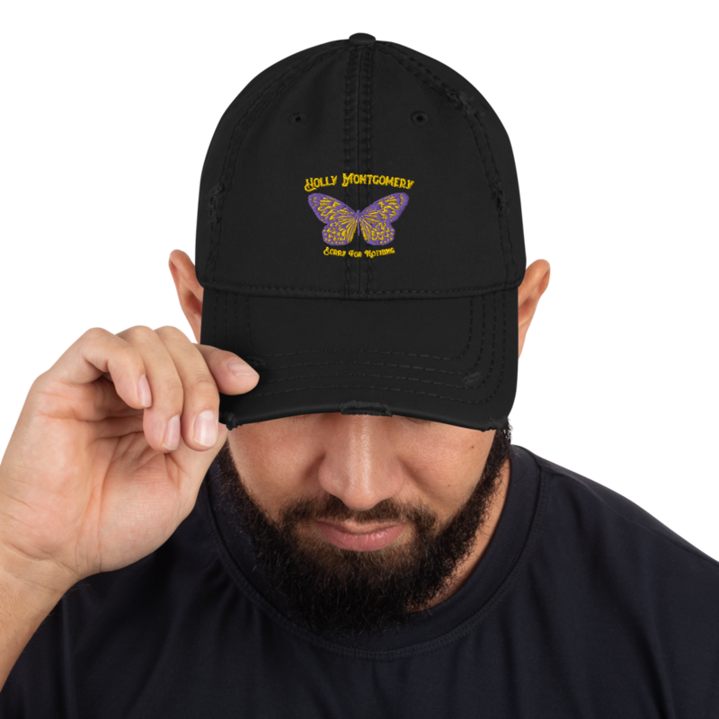 SORRY FOR NOTHING Distressed Hat