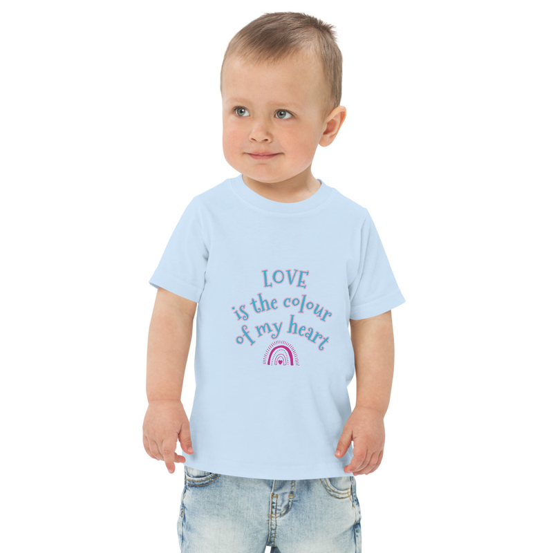 Toddler Love is the Colour t-shirt