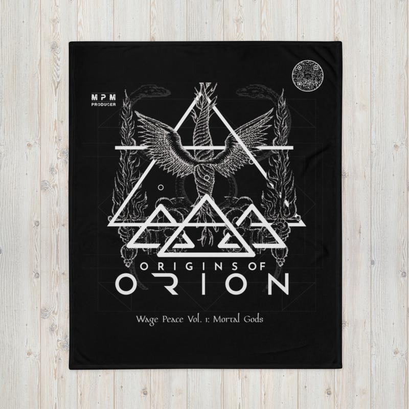 Origins Of Orion Wage Peace Vol. 1: Mortal Gods Throw Blanket