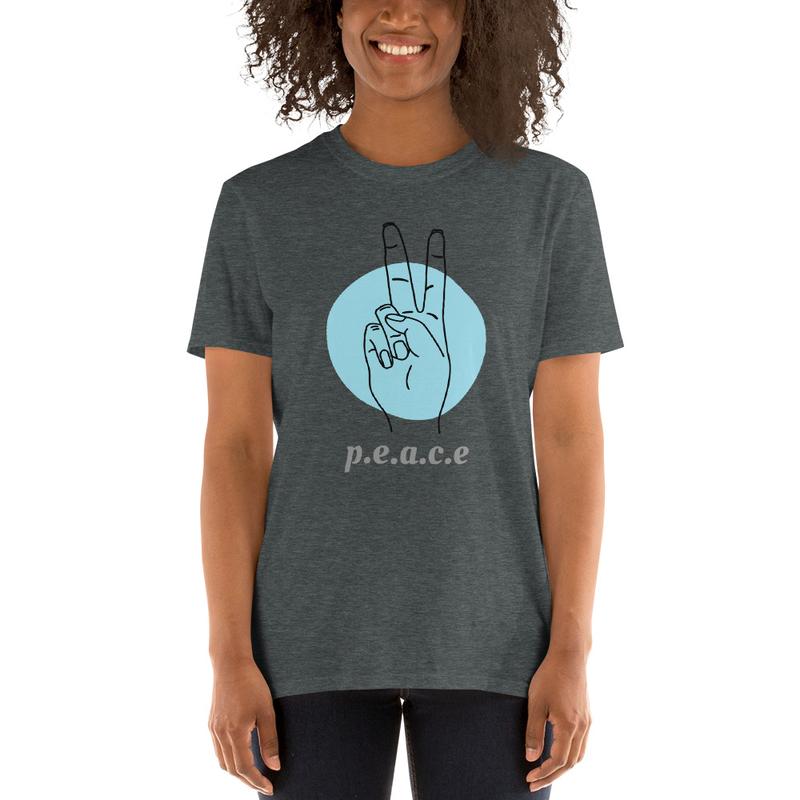 P.E.A.C.E. Short-Sleeve Unisex T-Shirt