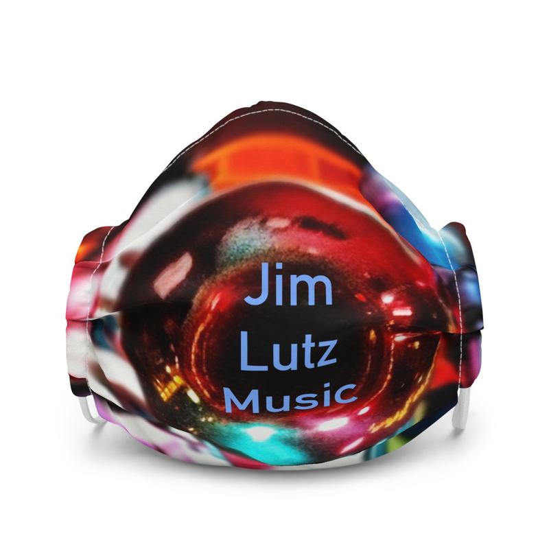 Jim Lutz Music - Premium face mask