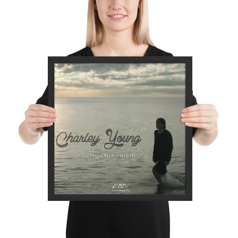 Phoenix Rising Framed Poster