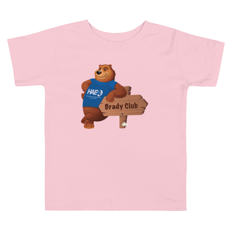 Apparel - Brady Bear Toddler Short Sleeve Tee