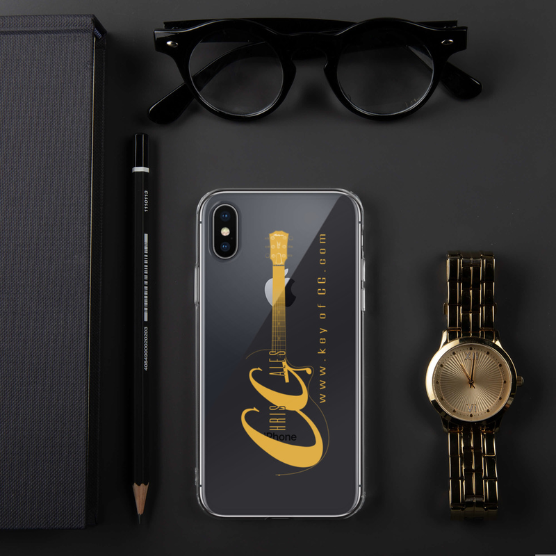 Chris Gales Gold Logo iPhone Case