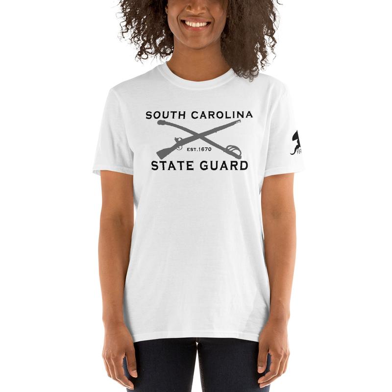 SCSG - Crossed Center Mass W/G - Short-Sleeve Unisex T-Shirt