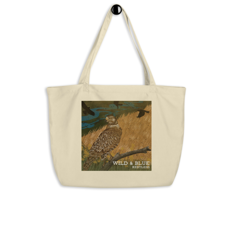 Wild & Blue - Restless Large Eco-Tote