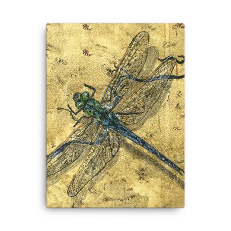 DragonFly-Blue - Canvas
