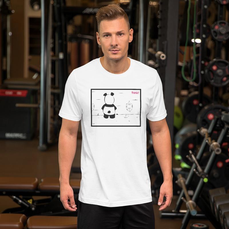 PissingPanda - Hvid T-Shirt