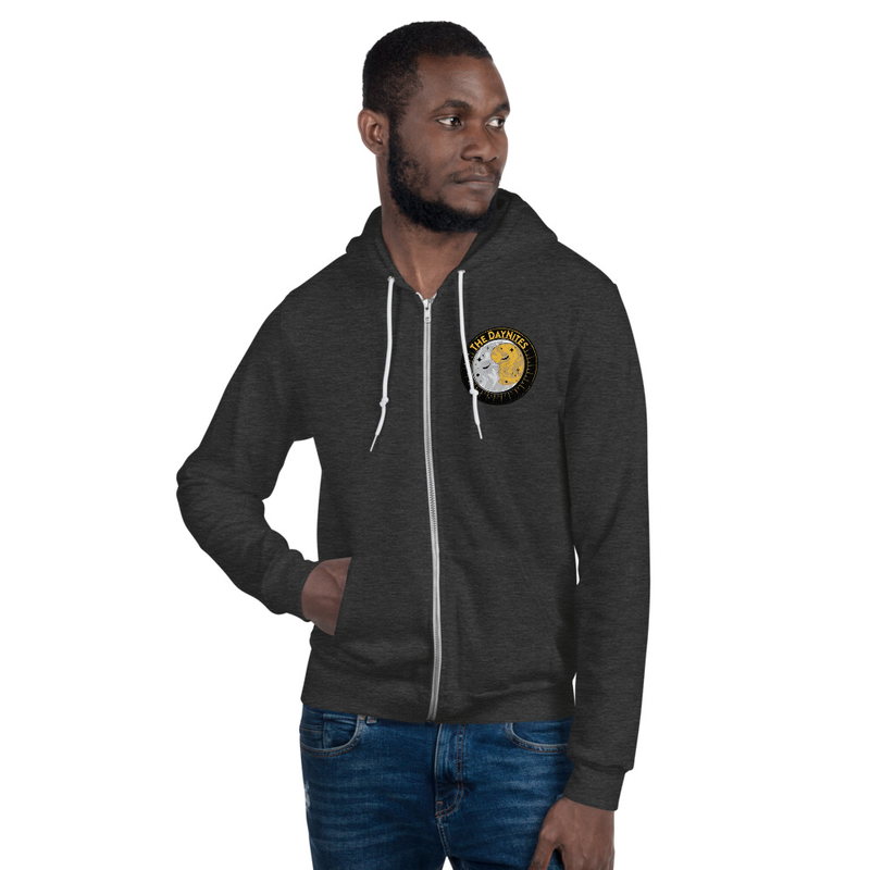 Logo Zip Hoodie Sweater