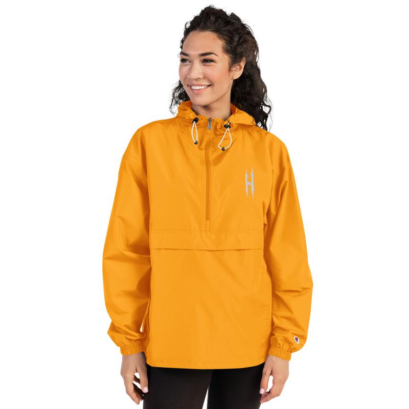 HONESTGANG/Champion Embroidered Jacket