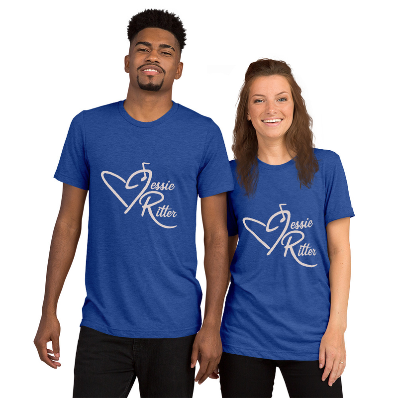 Short Sleeve T-Shirt - Jessie Ritter Logo (many colors)