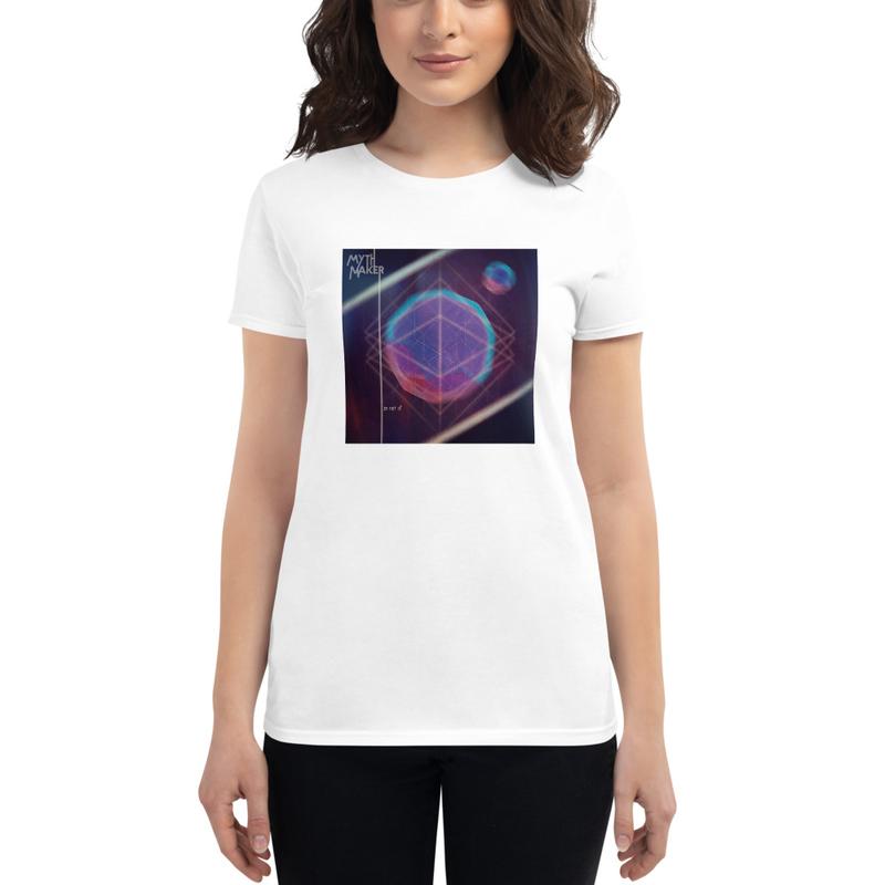 """""""in not of"""" Album Cover women's t-shirt"""