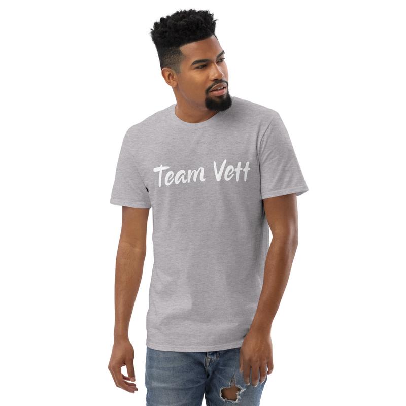 Team Vett Short-Sleeve T-Shirt White Text