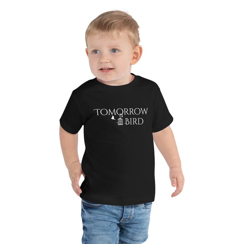 """""""WHITE LOGO"""" Toddler Short Sleeve Tee"""