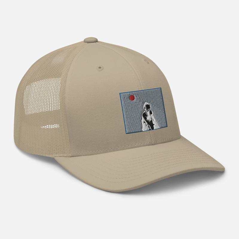 Trucker Cap (Will Phåråoh - sexsax Grey Sky)