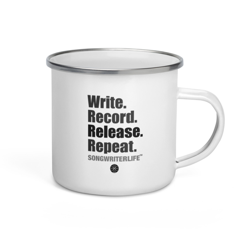 SongwriterLife - Enamel Mug